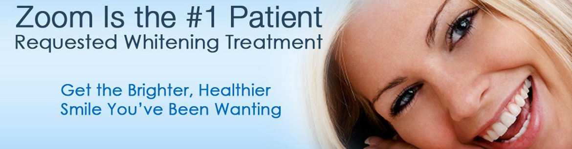 Teeth Whitening with Zoom!